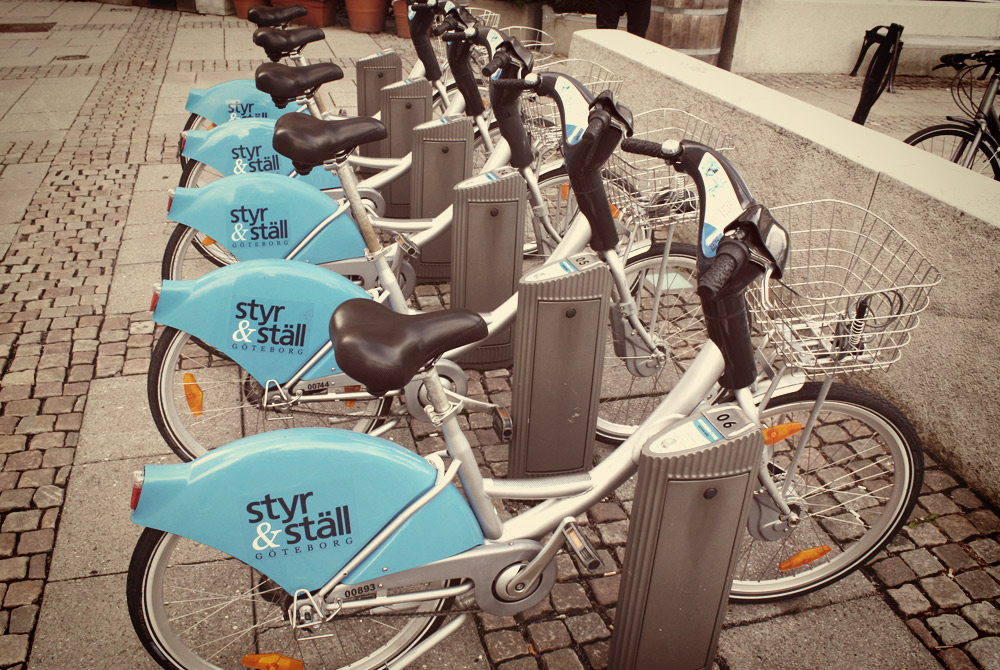 Bike hire Gothenburg