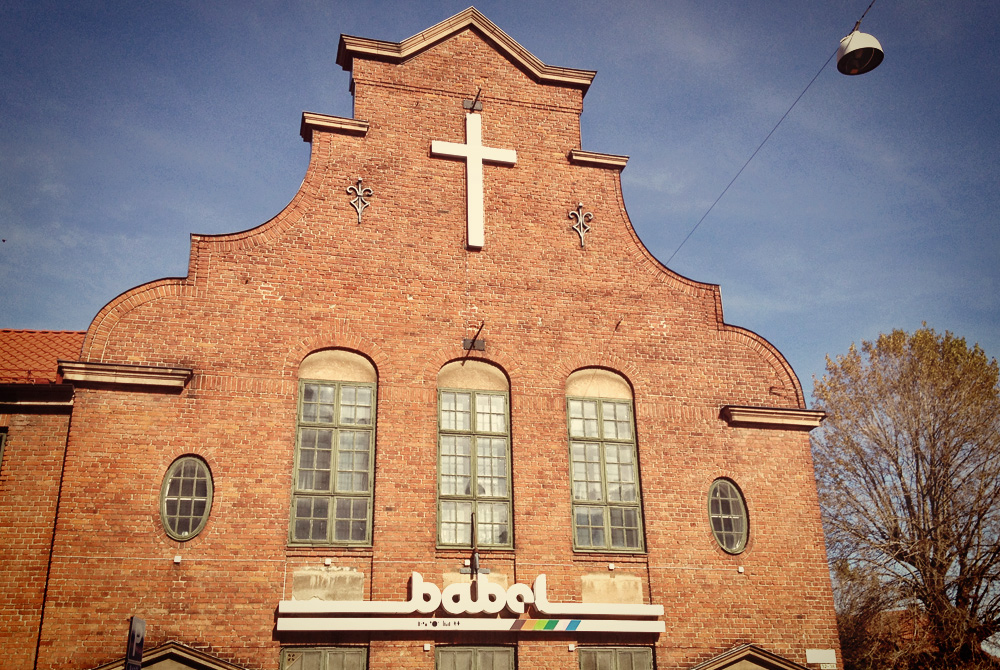 Babel live music venue in Malmö,