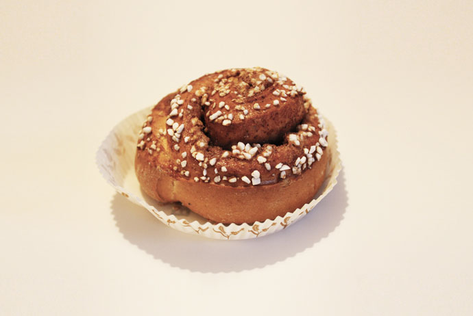 The cinnamon bun is a type of fika in Sweden