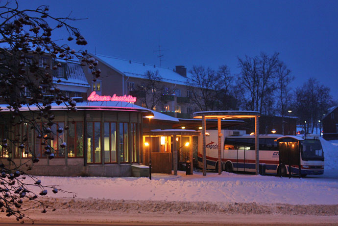 kiruna how to get there