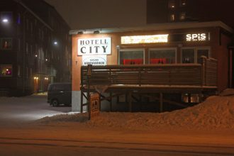 Hotell City in Kiruna, Sweden