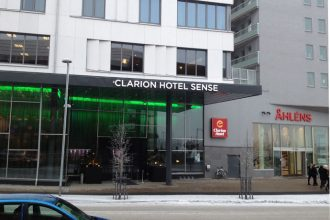 The Clarion Sense hotel in Luleå, Sweden