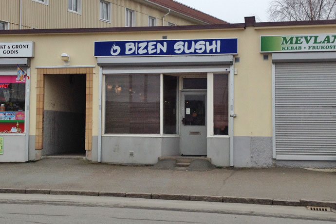 Bizen Sushi is the best place for sushi in Gothenburg