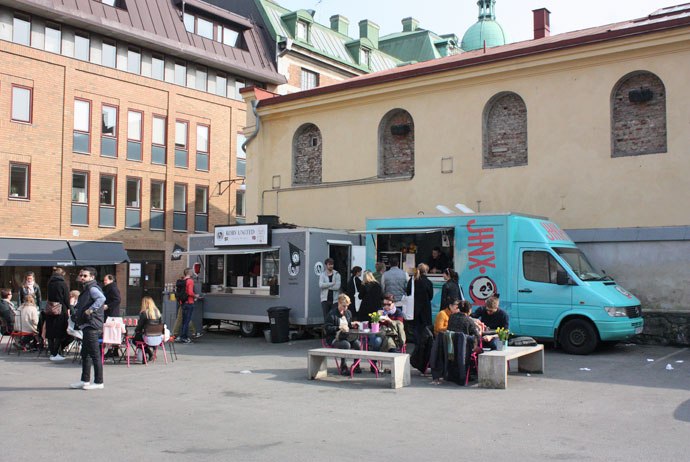 Gothenburg Sweden Vegan Hot Dog Restaurants