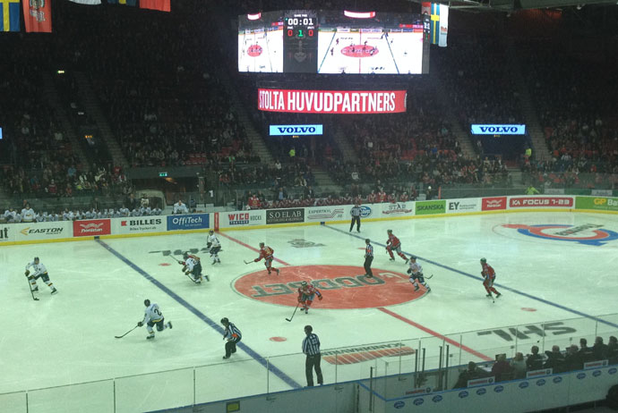 You can watch the Frölunda Indians playing ice hockey in Gothenburg