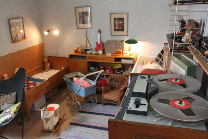 This apartment in Gothenburg is now a museum