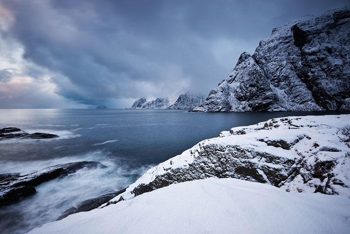 Winter on the Lofoten Islands, Norway