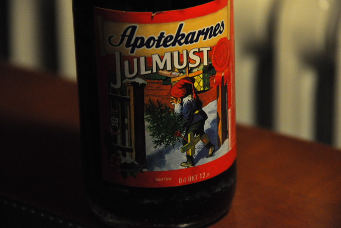 Julmust is a popular drink in Sweden at Christmas