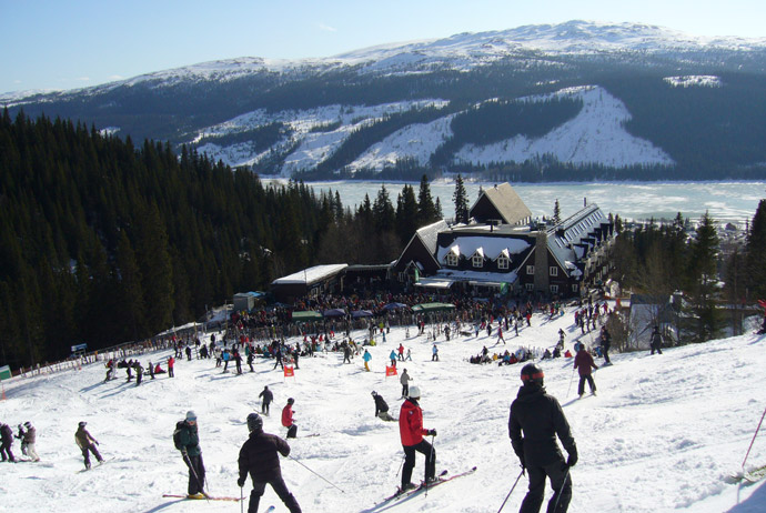Åre is one of the best ski resorts in Sweden