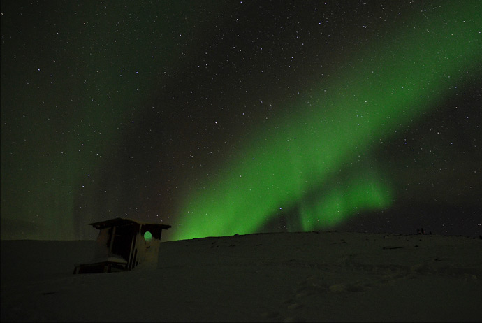 Seeing The Northern Lights In Sweden Routes North
