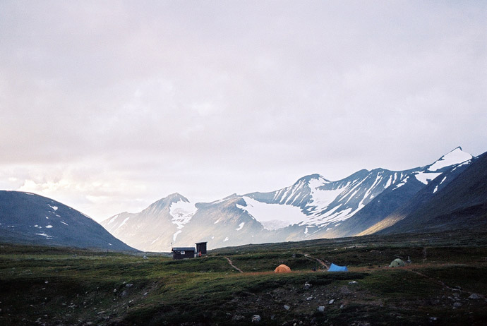 Sarek is one of the best places to visit in the far north of Sweden