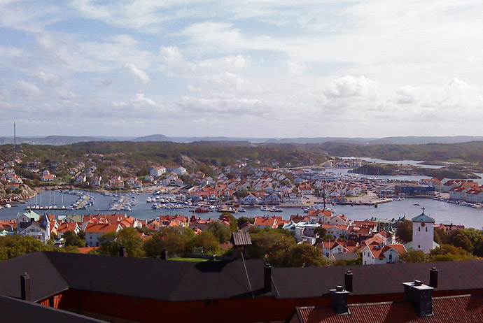 Marstrand island in Sweden