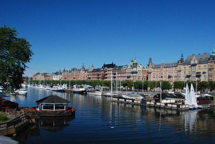 Östermalm is Stockholm's most upscale neighbourhood