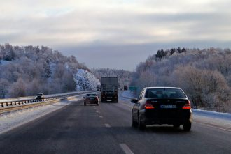 The road from Stockholm to Gothenburg