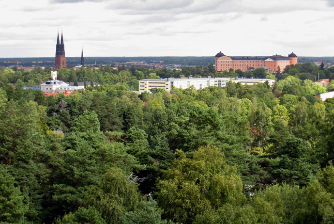 Stadsskogen is a great nature area in Uppsala