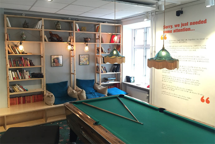 Urban House is one of Copenhagen's best hostels