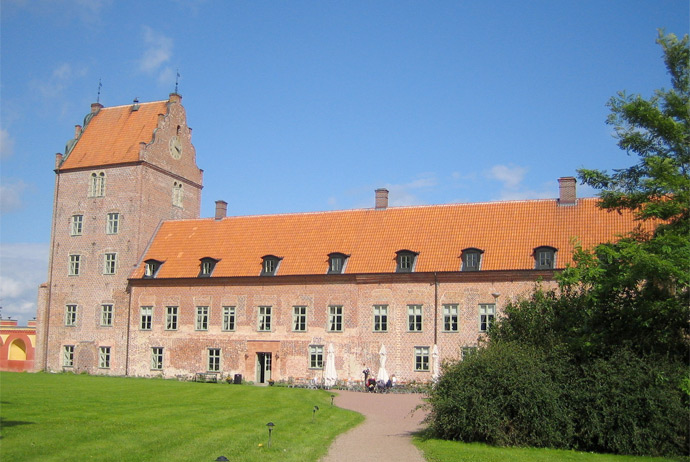 Backaskog Castle used to be a monastery