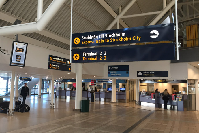Getting to Stockholm from Arlanda during a stopover