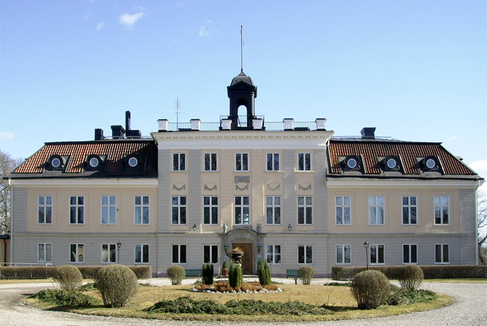 Södertuna Slott is a Swedish castle you can sleep in!