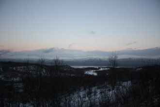 Views along the way from Kiruna to Narvik