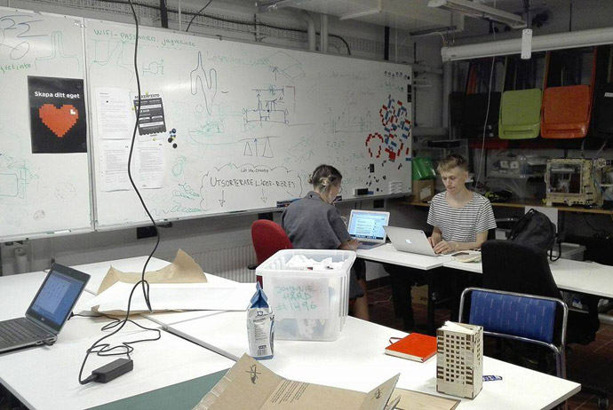 Stockholm Makerspace is a creative spot for entrepreneurs and innovators