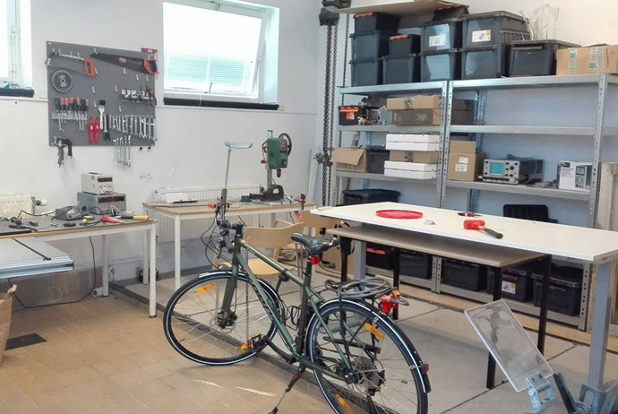 The workshop at Things Stockholm