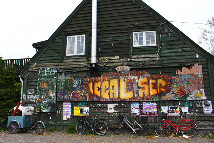 Christiania is still worth visiting