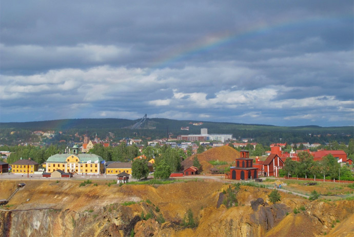 Falu Mine in Sweden