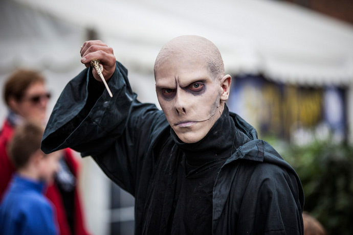 The Harry Potter Festival in Odense, Denmark