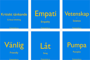 Some of Prata Svenska's free flashcards