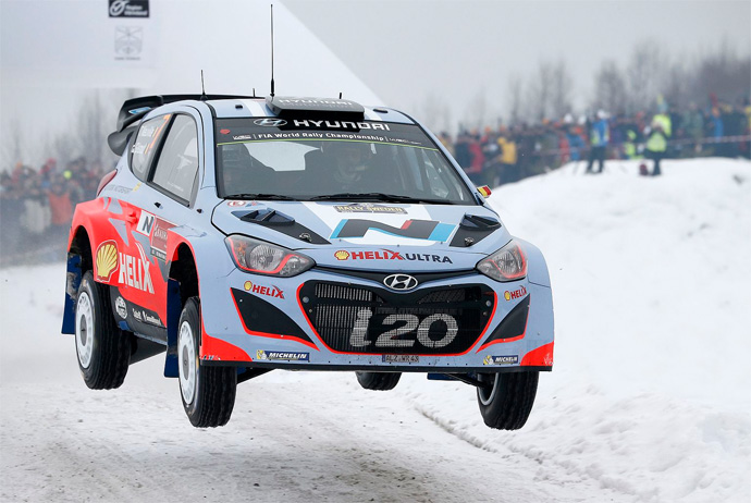 Rally Sweden takes place in Varmland