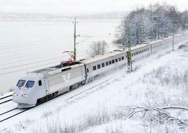 Sweden one-month rail pass