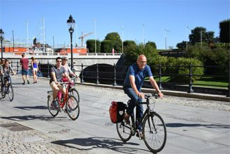 Stockholm cycling tour