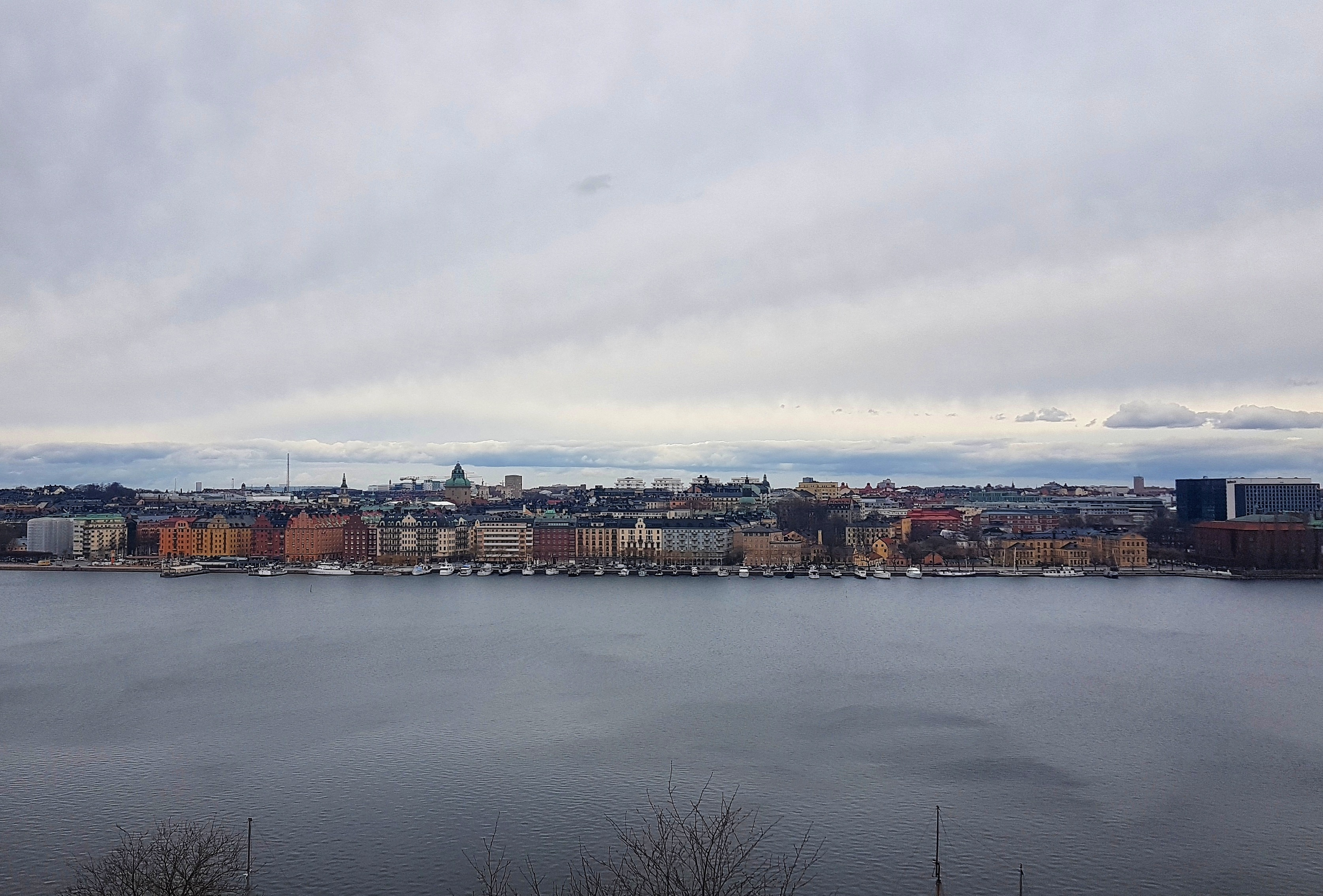 Skinnarviksberget is a great viewpoint in Stockholm