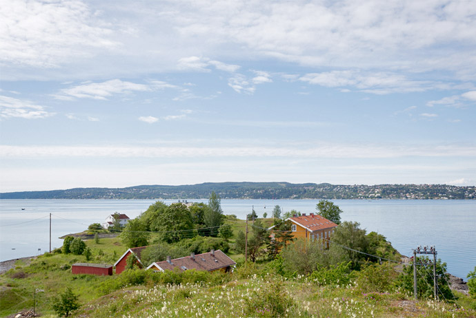 Heggholmen is a nice island to visit in the Oslofjord