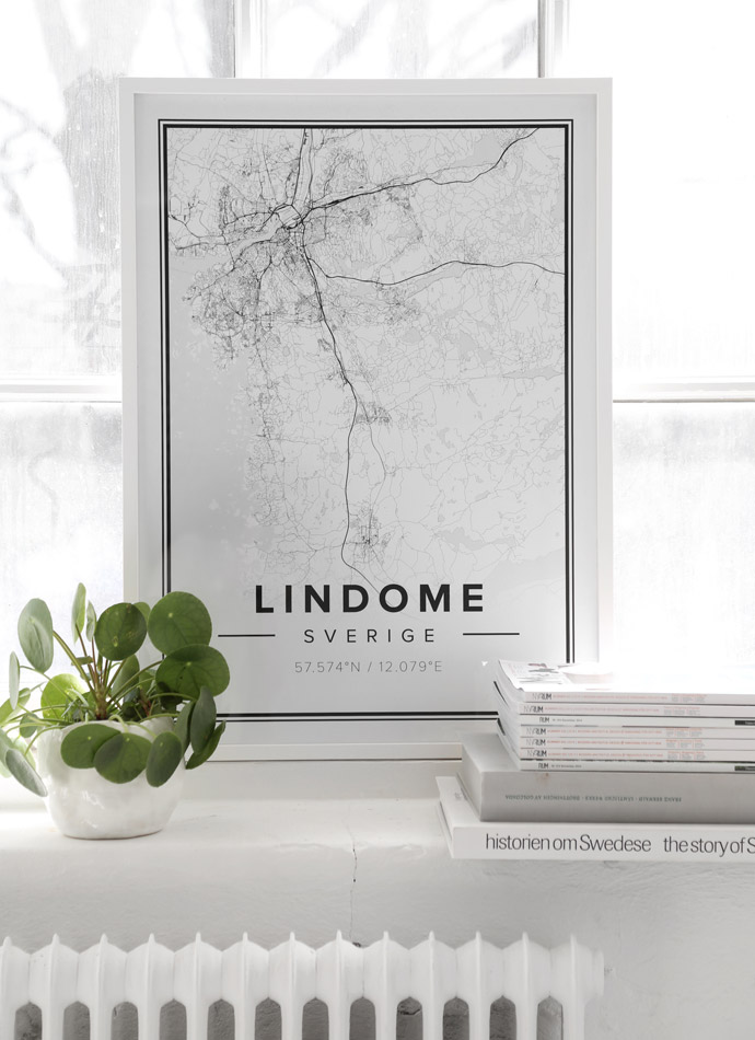 Lindome map