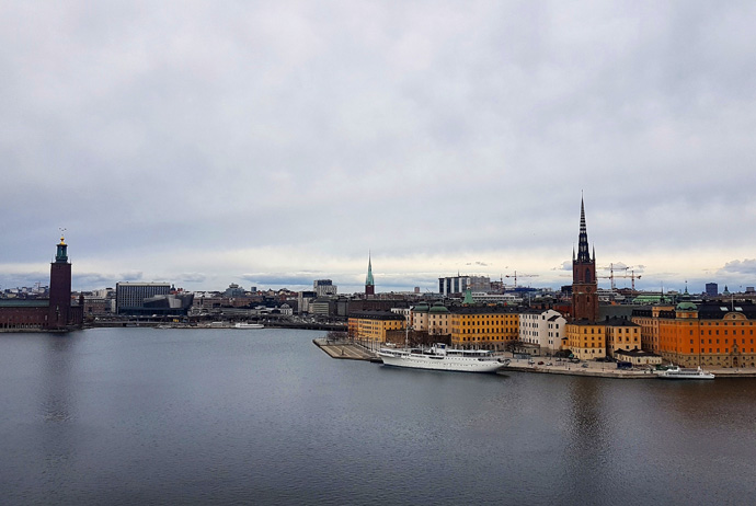 Monteliusvagen offers beautiful views over Stockholm