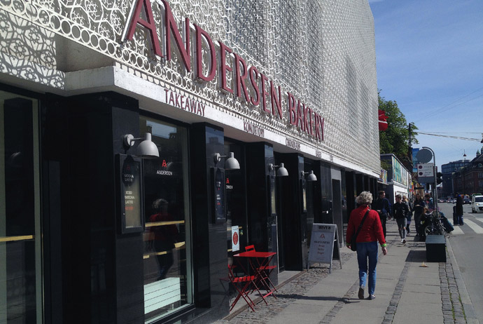 Andersen Bakery in Copenhagen does good Danish pastries