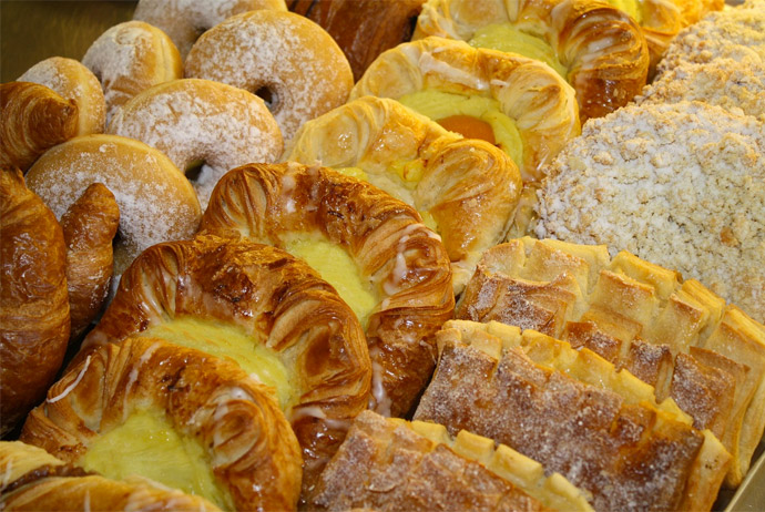 Danish pastry in Copenhagen