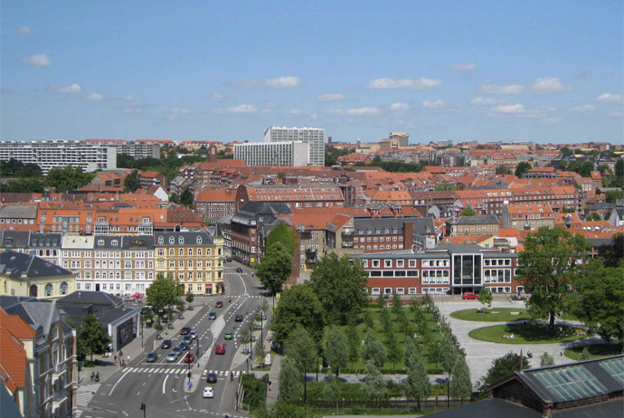 See Denmark's second-biggest city from above at this event in Aarhus
