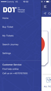 Buying tickets is easy with this Danish app