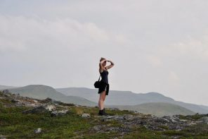 Guided hiking tour in Swedish Lapland