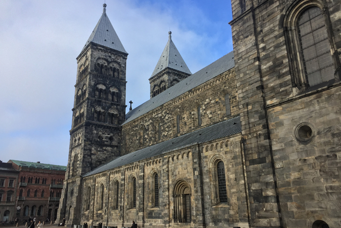 The cathedral in Lund is one of the city's best cultural attractions