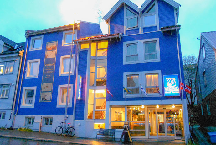 Viking Hotell is a great cheap place to stay in Tromsø