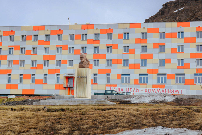 The world's northernmost Lenin statue