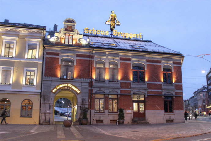 Schous Brewery in Oslo