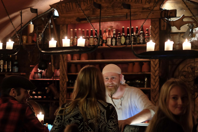 Aifur is a Viking-themed restaurant in Stockholm
