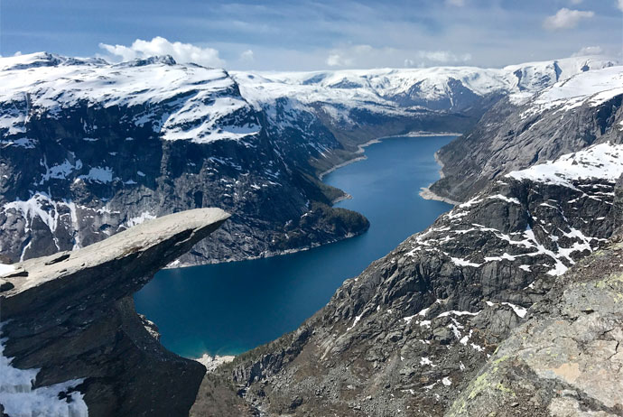 Hardangerfjord is one of the most spectacular places in Scandinavia