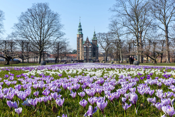 Spring is a good time to visit Denmark