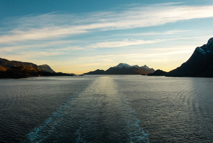 The Vesteralen Islands are less crowded than Lofoten